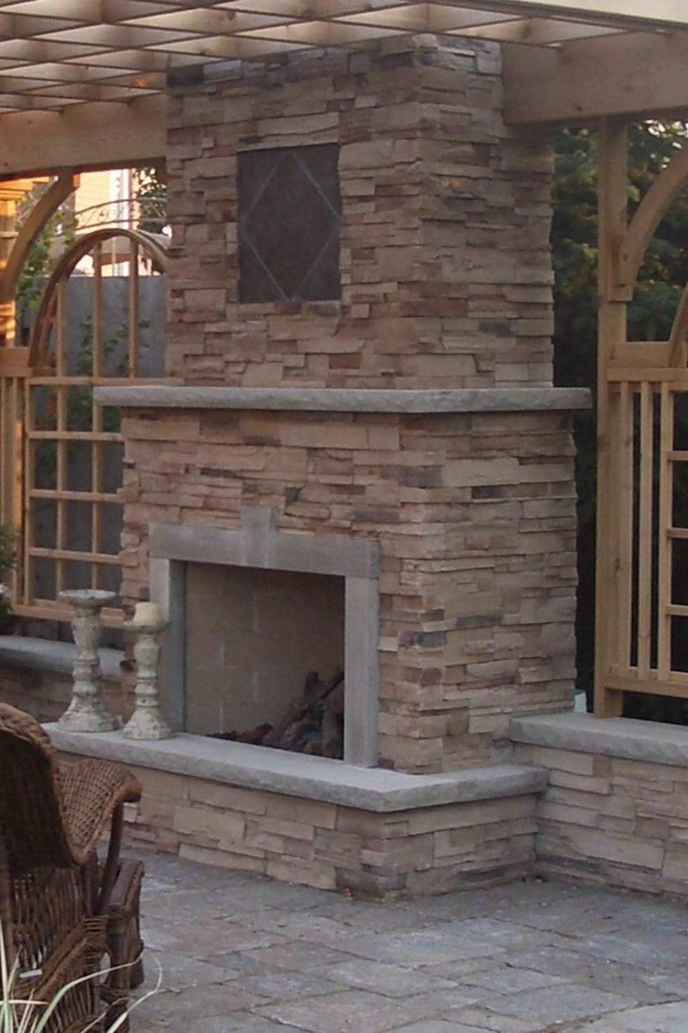Natural Stone Fireplace Hearth The Image Kid Has It