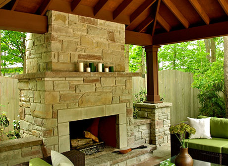 15 Natural Fireplaces
