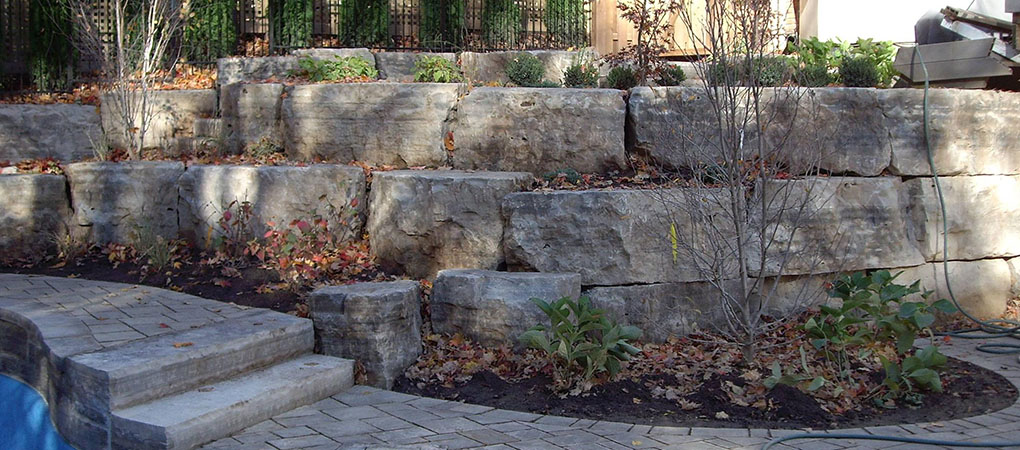 Landscaping stones from ajr stones for the garden for Landscaping rocks burlington ontario